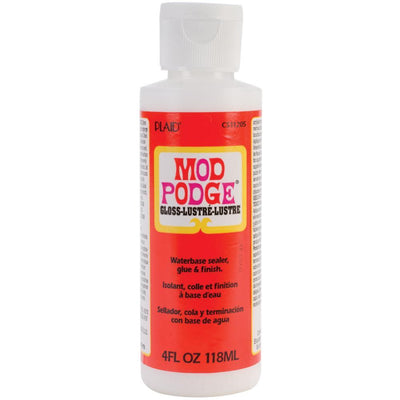 Plaid Mod Podge Glue & Gloss 4 oz - artcovecrafts.com