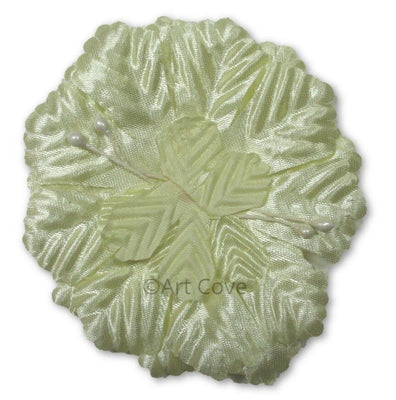 Yellow Capia Flowers Bulk Wholesale Flat Carnation Base 144 Pieces - artcovecrafts.com