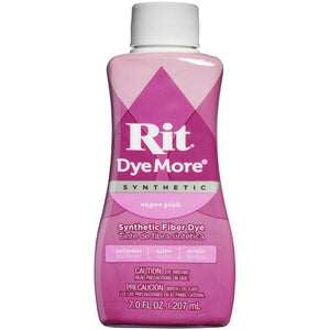 Rit Dye More Synthetic Super Pink 7oz