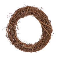 10 inch Natural Grapevine Wreaths 3 Pieces - artcovecrafts.com