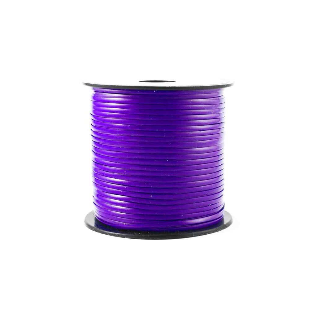 Purple Plastic Craft Lace Lanyard Gimp String Bulk 100 Yard Roll