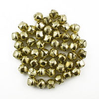 3/8 Inch 10mm Gold Small Craft Jingle Bells Charms Bulk 144 Pieces - artcovecrafts.com