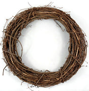 4 inch Natural Small Grapevine Wreath 1 Piece - artcovecrafts.com