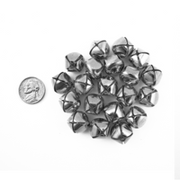 0.75 Inch 20mm Silver Craft Jingle Bells 30 Pieces - artcovecrafts.com