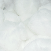1 inch White Small Craft Pom Poms 100 Pieces - artcovecrafts.com