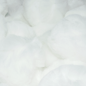 2.5 Inch White Large Craft Pom Poms - artcovecrafts.com