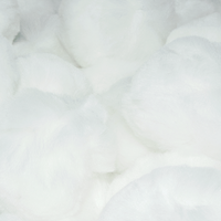 2 Inch White Craft Pom Poms 25 Pieces - artcovecrafts.com