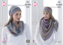 Load image into Gallery viewer, 5401 Pattern CROCHET. F26