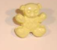 Teddy yellow - shanked 15mm   BBtedyellow