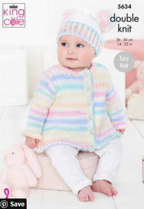 Double knit pattern. 5634