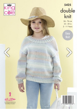 Load image into Gallery viewer, Double knit pattern 5425
