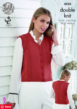 Load image into Gallery viewer, Pattern     4524.  double knit