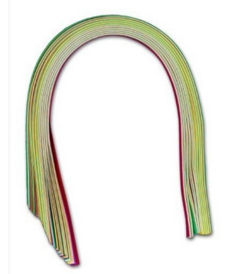 Quilling paper   3mm assorted colours