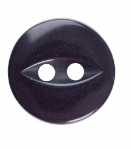 Fish Eye Button: 11mm: Burgundy G033918\12
