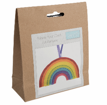 Load image into Gallery viewer, Make your own felt decoration    Rainbow   GCK061