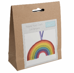 Make your own felt decoration    Rainbow   GCK061