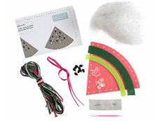 Load image into Gallery viewer, Make your own felt decoration     Watermelon   GCK058