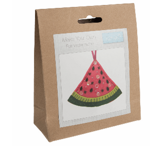Make your own felt decoration     Watermelon   GCK058