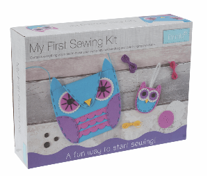 My First Sewing Kit:       Owl Handbag & Charm              CF128