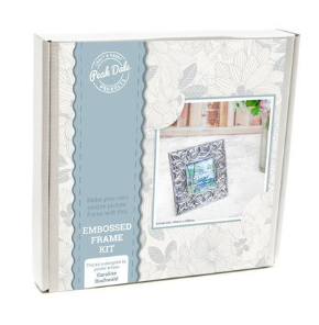 Metal embossed frame kit