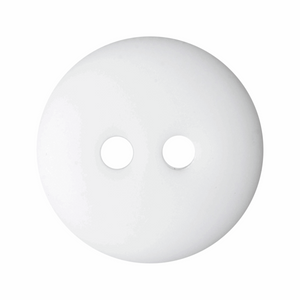 Matt Smartie Button: 15mm: White G332824\1
