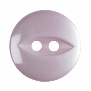 Fish Eye Button: 14mm: Pale Pink G033922\6