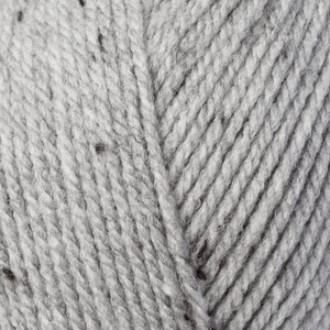 Fab: Double Knitting: light Grey Tweed