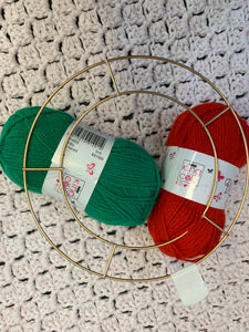 Yarn lock down kit
