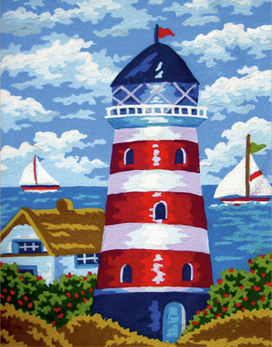 Tapestry kit. Lighthouse