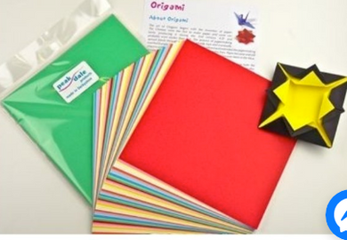 Origami paper 175mm. Pack 50