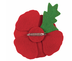 Make your own felt brooch   Poppy    GCK055