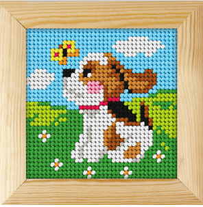 puppy tapestry/needle point first kit