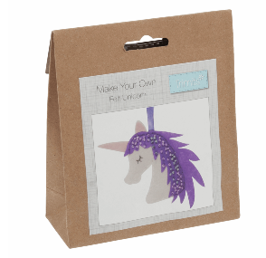 Make your own felt decoration   unicorn  GCK036