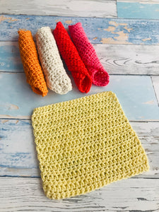 Hand made wash cloth