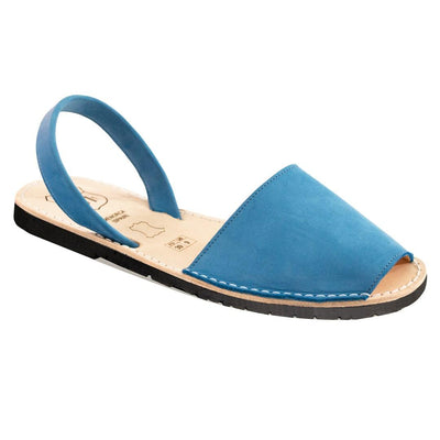 Avarcas Classic Azure Blue Suede - Buy Avarca Sandals and Ethical Jewelry Online!