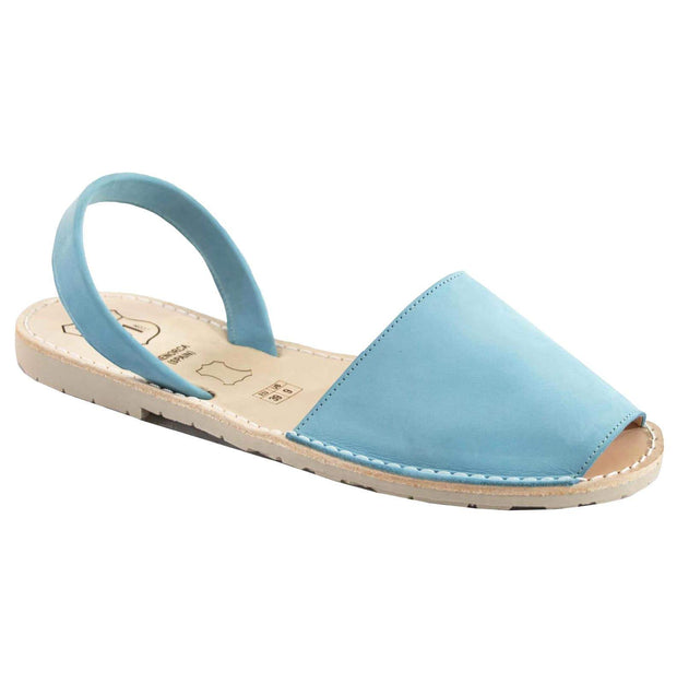 Avarcas 101 sandals for women Turquoise / US 4.5-5 / EU 35 sustainable shoes in the US