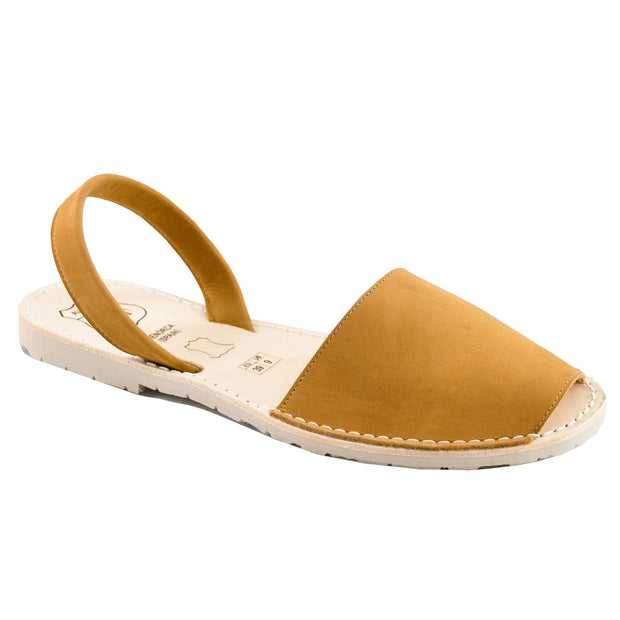 Avarcas 101 sandals for women Camel / US 4.5-5 / EU 35 sustainable shoes in the US