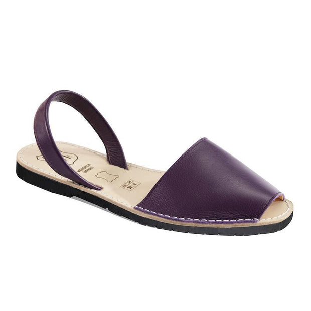 Avarcas 101 sandals for women Wine / US 4.5-5 / EU 35 sustainable shoes in the US