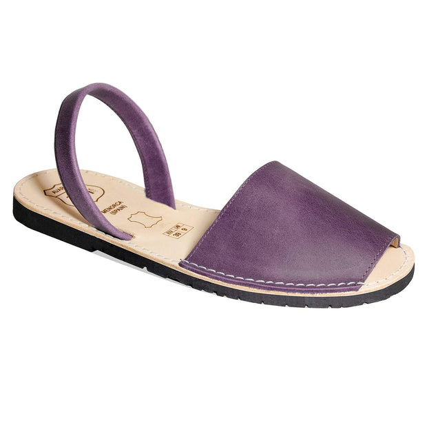 Avarcas 101 sandals for women Purple / US 4.5-5 / EU 35 sustainable shoes in the US