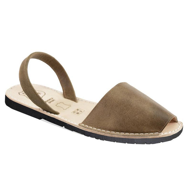Avarcas 101 sandals for women Taupe / US 4.5-5 / EU 35 sustainable shoes in the US