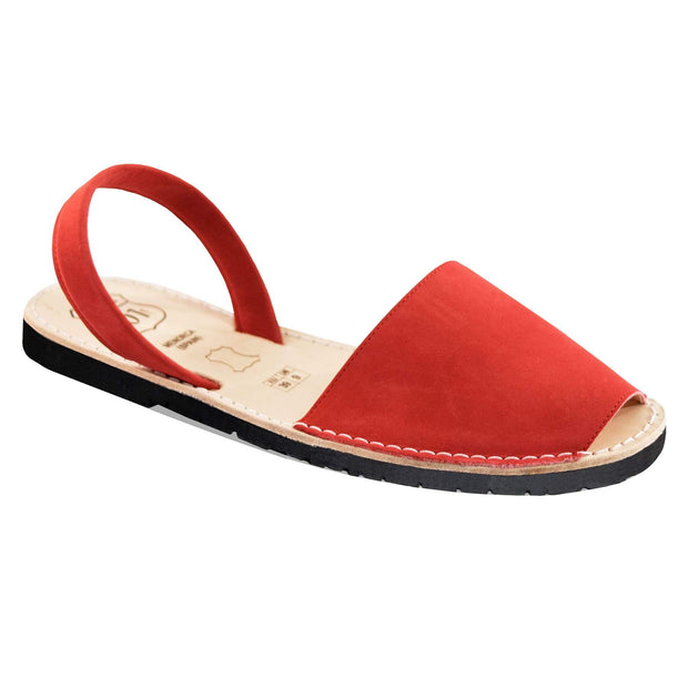 Avarcas 101 sandals for women Red / US 4.5-5 / EU 35 sustainable shoes in the US