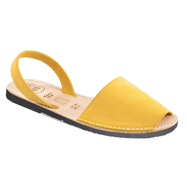 Avarcas 101 sandals for women Banana Yellow / US 4.5-5 / EU 35 sustainable shoes in the US