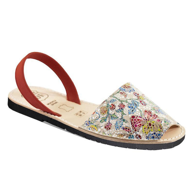 Avarcas 101 sandals for women Mosaic / US 4.5-5 / EU 35 sustainable shoes in the US