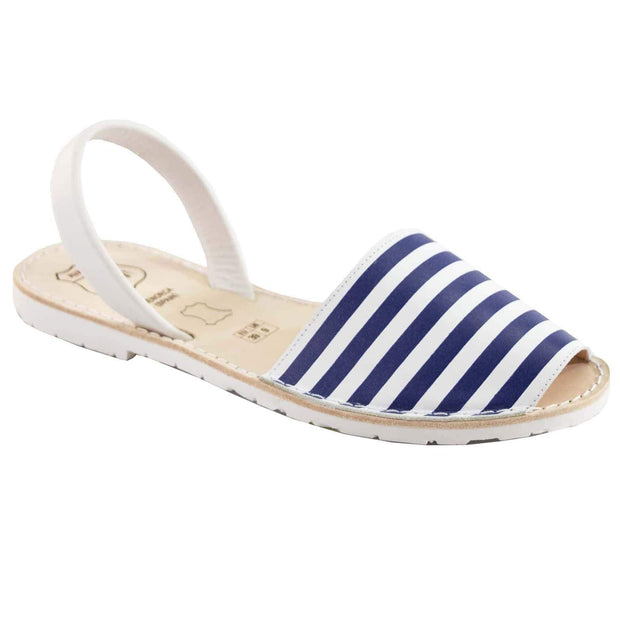 Avarcas 101 sandals for women Sea Stripes / US 4.5-5 / EU 35 sustainable shoes in the US