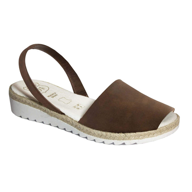 Padded Footbed Wedges Chocolate - Buy Avarca Sandals and Ethical Jewelry Online!