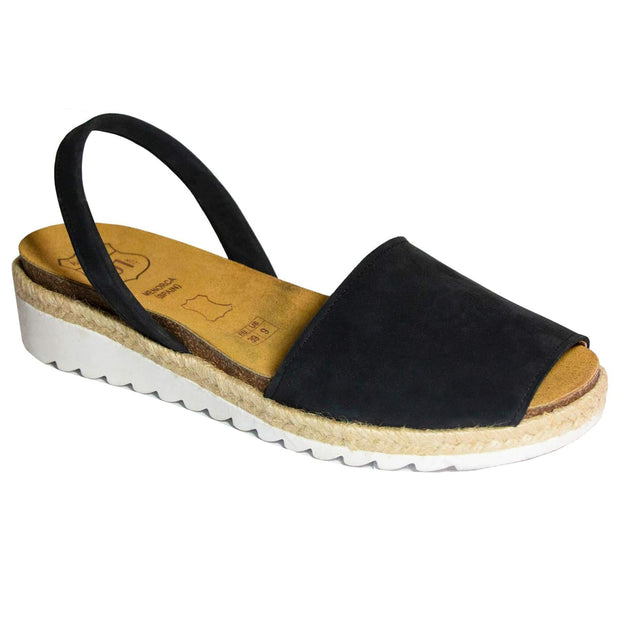 Avarcas 101 sandals for women Black / US 4.5-5 / EU 35 sustainable shoes in the US