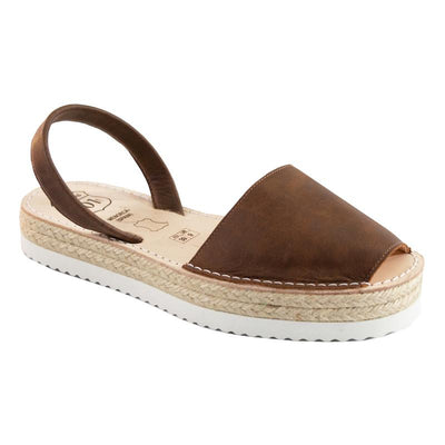 Avarcas Chocolate Flatforms-Avarcas 101