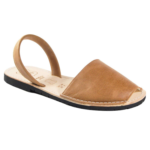 Avarcas 101 sandals for women Brown 101 / US 5.5-6 / EU 36 sustainable shoes in the US