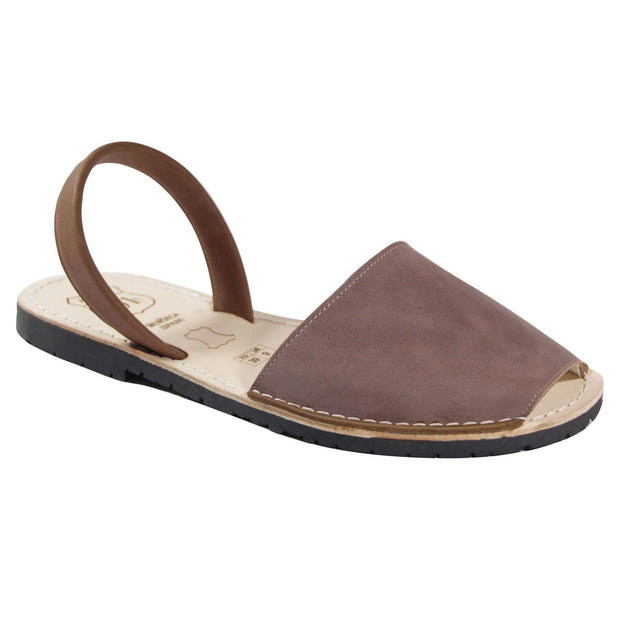 Avarcas 101 sandals for women Fog / US 4.5-5 / EU 35 sustainable shoes in the US
