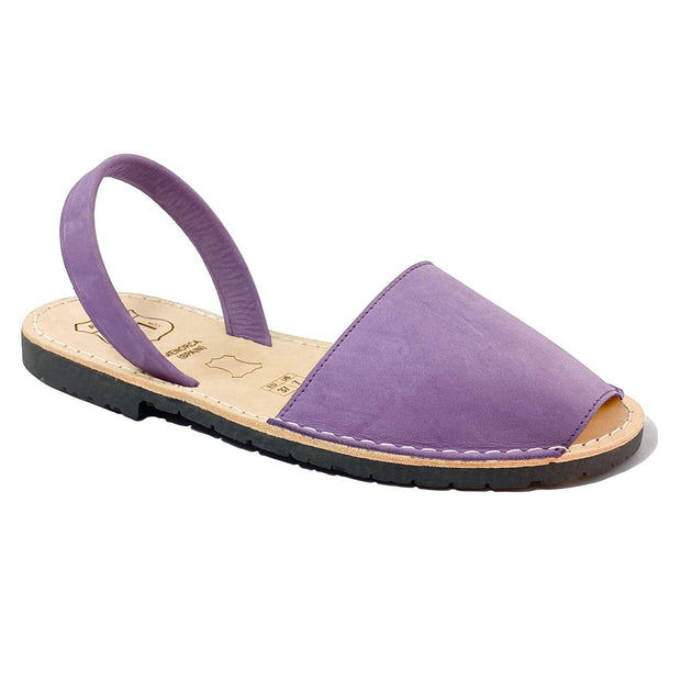 Avarcas 101 sandals for women Lavender / US 4.5-5 / EU 35 sustainable shoes in the US